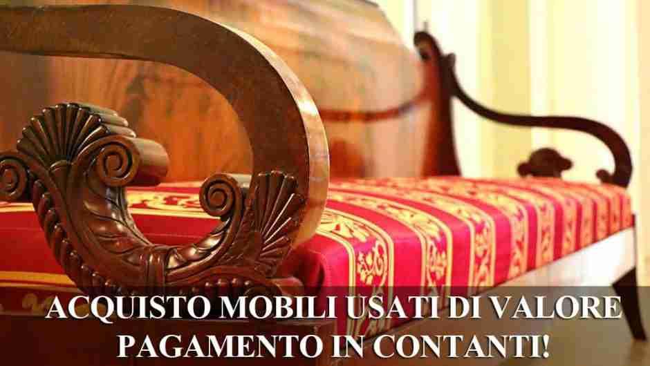 Mobili usati Roma: compro il tuo mobile usato a Roma