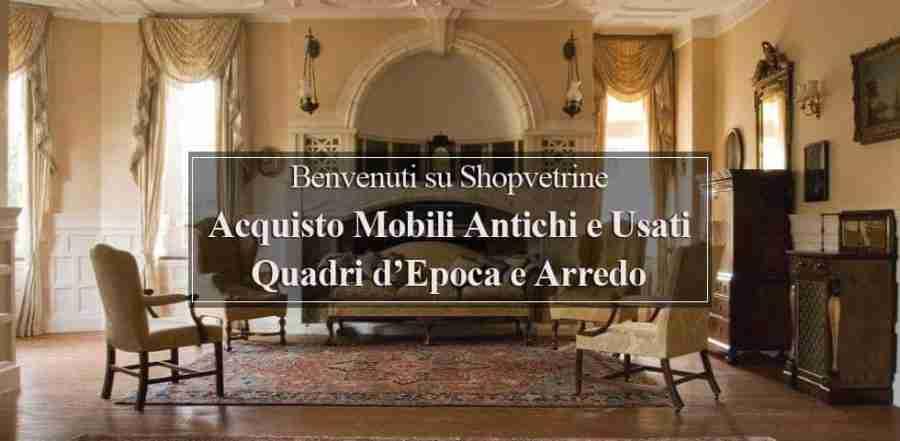 Valutazione gratuita mobili antiquariato